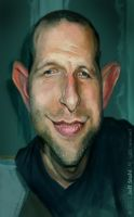 Caricature of artist Mike Eppe by JeffStahl