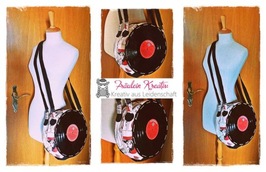 Retro Record Bag by FrlKreativ