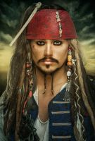 JACK SPARROW by CalvinHollywood