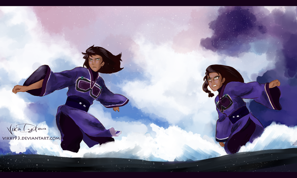 Desna and Eska by Vikki93