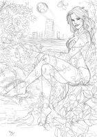 Poison Ivy by Ruihq