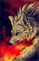 .:Ninetales.Red Fire:. by WhiteSpiritWolf