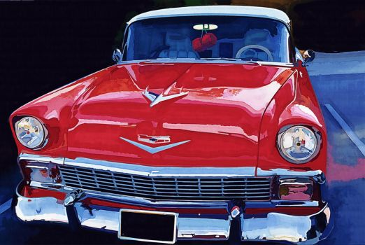 Chevrolet Bel Air 54 by appelt65
