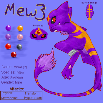 Mew3 - Reference by Sklavenbrause
