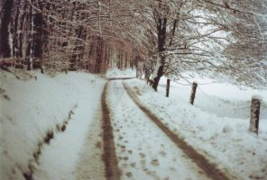 Odenwald Snow Road by engineerJR