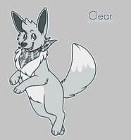 Clear the Eevee (shiny) by Tinnypants