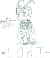 Chibi Loki by Ace-of-the-Spade