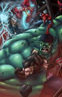 Hulk vs ... Everyone! by Kyle-Fast