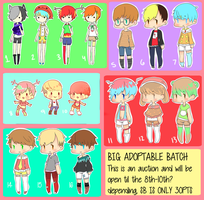 QT Adoptables Big Batch ||Auction|| Closed|| by Phini-Commission