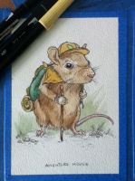 Adventure Mouse by FinchFight