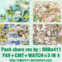 PACK SHARE RES #1 By: DDBo411 by DDBo411