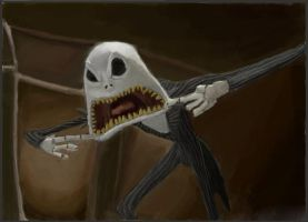 Furious Skellington by WaterLily-Gems