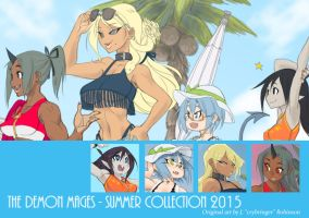 DM's Summer Collection! by crybringer