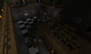 Zombie Horde Chase - Minecraft by Galato901