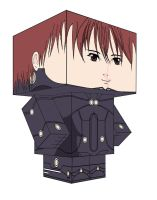 GANTZ KEI PAPERTOY by animepapertoys