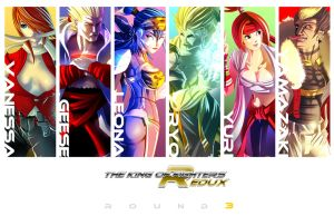 KOF REDUX:Round 3 by digitalninja