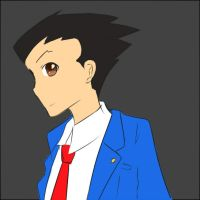 phoenix wright by aznsensation123