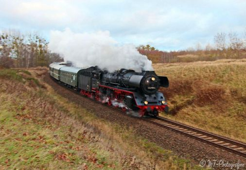 Steam locomotive 032155-4 on special trip Nr.2 by MT-Photografien