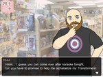 40s and 20s Dating Sim - Mike by starlite-decay
