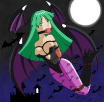 Commis- Morrigan by Raya100