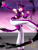 Street Fighter Girls - Juri by zhenyue
