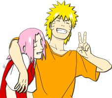 narusaku by Bleach-Fairy