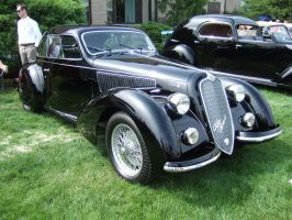 1938 Alfa Romeo 6C 2300B MM, Touring by Aya-Wavedancer