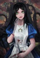 Alice Madness Returns by mimia1112