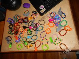 Halloween Kandi by october84stardust