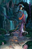 Fairy of Lo river by Nomariel