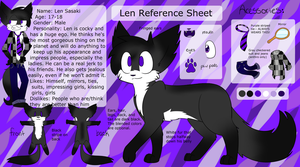 Len Reference Sheet by Rainy-bleu