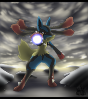 Mega Lucario by Latiar027