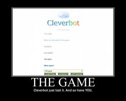 Cleverbot Motivational by ChesterPalm