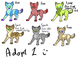 Adoptables puppies by Doctor-of-Madness