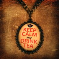 Keep Calm and Drink Tea by CatherinetteRings