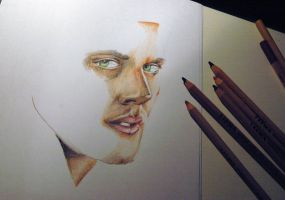 Dean W.I.P. [Present for a friend] by TimelordLoki