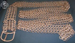 Chainmail Belt by dalentalas