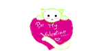 Valentine Kitty by GameLovingFox