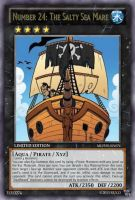 Salty Sea Mare Ship (MLP): Yu-Gi-Oh! Card by PopPixieRex