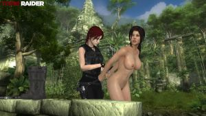 Lara Croft and the chase for Bhogavati by honkus2