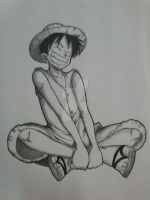 Happy Luffy by johnnae