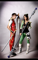 Dynasty Warriors 7 cosplay by Rukiii
