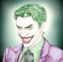 Joker - Anthony Misiano Colored by bakero-ichiban