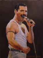 Freddie Mercury by angelivanovart