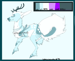 Deer Adoptable 2 OPEN by WhovianMutt