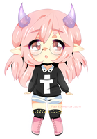 New oc: nee by Kairuuii