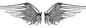 gothic wings by SwarzezTier