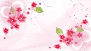 template - wallpaper flower by Ecathe
