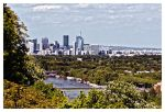 Paris from Saint Cloud park by SuBWaReZ