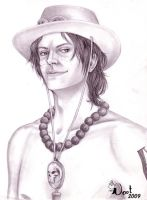 Portrait of a Pirate: Ace by noot